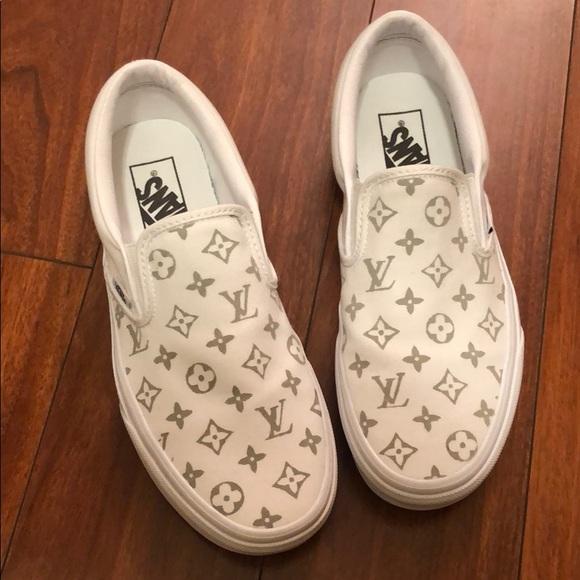 Vans Shoes | Custom Louis Vuitton Slip